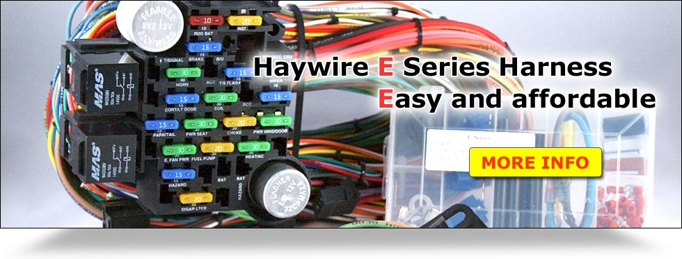 haywire wiring harness instructions. Black Bedroom Furniture Sets. Home Design Ideas