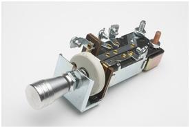 Switch, Headlight, 3 position w/ billet knob