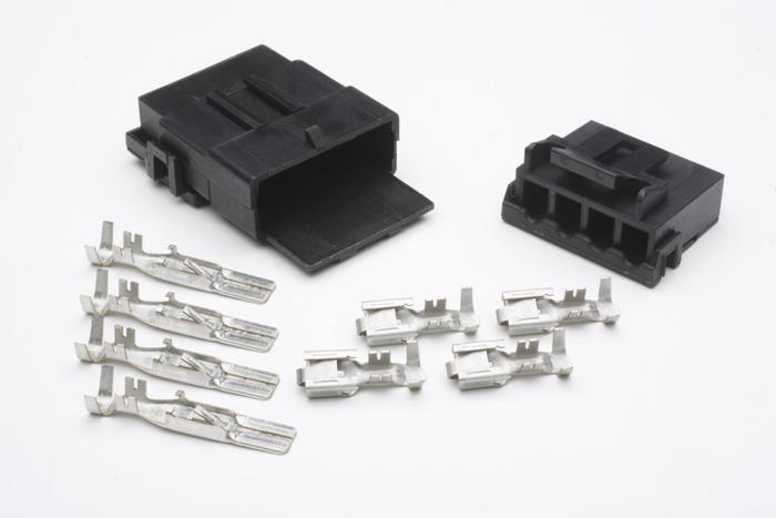 connector ignition 4 contact 12 ga w terminals. Black Bedroom Furniture Sets. Home Design Ideas