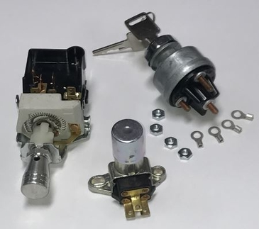 Switch Kit (includes Ignition, Headlight and Dimmer Switches)
