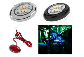 Light, Miniature Oval Accent, LED