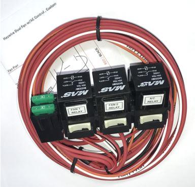 Relay, Dual Fan w/AC Control
