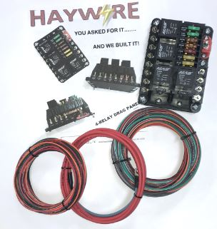 Haywire 4-Relay Drag Panel w/ Harness
